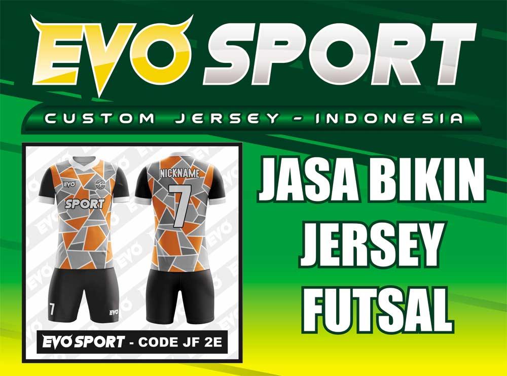 Pembuatan Jersey Full Printing Untuk Futsal Dan Sepakbola